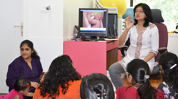 antenatal breastfeeding class, Dr. Manisha Gogri Lactation Consultant and Family Physician